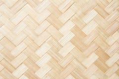 De muur van de bamboetextuur Stock Foto's