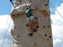 De Muur van de Bergbeklimming stock fotografie