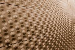 De Muur van de Bouw van de Legering van het metaal stock fotografie