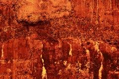 De muur van de brand Stock Afbeeldingen