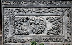 De muur van de draak Stock Fotografie