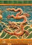 De muur van de draak Royalty-vrije Stock Afbeeldingen