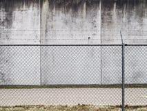 De muur van de gevangenis Royalty-vrije Stock Afbeeldingen