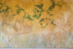 De muur van de gipspleister Stock Foto's