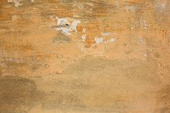 De muur van de gipspleister Royalty-vrije Stock Foto's