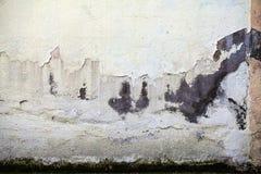 De Muur van de Grungesteen Stock Foto