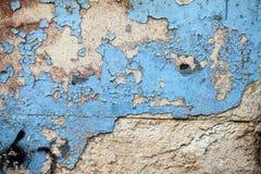 De Muur van de Grungesteen Stock Afbeeldingen