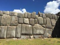 De muur van de Incasteen Royalty-vrije Stock Afbeeldingen