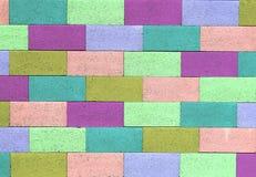 De Muur van de kleur Royalty-vrije Stock Fotografie