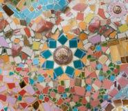 De muur van de kunsttegel Royalty-vrije Stock Fotografie