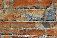 De Muur van de Lei van het zandsteen Royalty-vrije Stock Foto