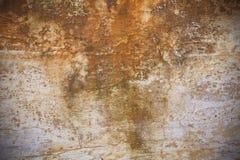 De muur van de roest royalty-vrije stock foto's