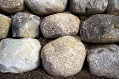 De muur van de rots Stock Foto's