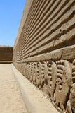 De Muur van de Ruïne van Chan van Chan stock afbeelding