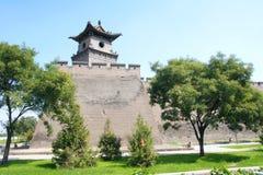 De muur van de stad stock foto