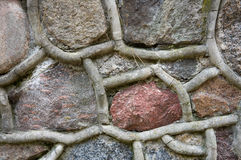 De muur van de steen Royalty-vrije Stock Foto