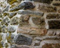 De muur van de steen Stock Afbeeldingen