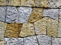 De muur van de steen Stock Foto's