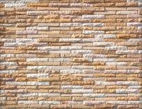 De muur van de steen die met blokken wordt gemaakt Royalty-vrije Stock Fotografie