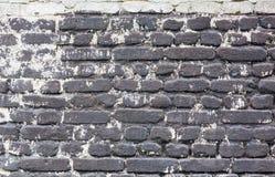 De muur van de steen met cement Royalty-vrije Stock Foto