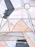 De muur van de steen, mozaïek Stock Fotografie