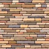 De muur van de steen. Naadloos patroon. Royalty-vrije Stock Fotografie
