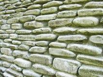 De muur van de steen op lange termijn Royalty-vrije Stock Foto