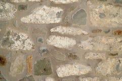 De muur van de steen Textuur van aard Achtergrond voor tekst, banner, etiket Royalty-vrije Stock Fotografie
