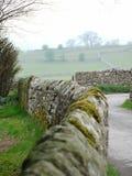 De Muur van de Steen van het land Royalty-vrije Stock Afbeeldingen