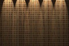 De muur van de stromat royalty-vrije stock fotografie