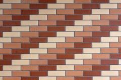 De muur van de tegel Royalty-vrije Stock Afbeelding