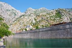 De muur van de Tivatstad stock afbeelding