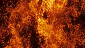 De muur van de vuurhaardbrand in langzame motie stock illustratie