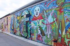 De muur van Graffiti Stock Afbeelding
