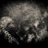 De muur van Grunge Stock Afbeeldingen