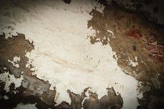 De muur van Grunge met schilverf Grungy textuur als achtergrond verf Stock Foto