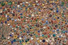 De muur van het aardewerk Royalty-vrije Stock Afbeeldingen