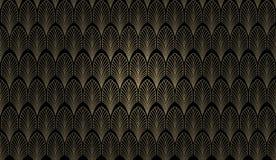 De Muur van het art deco Stock Fotografie
