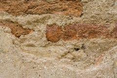De muur van het baksteencement Royalty-vrije Stock Foto's