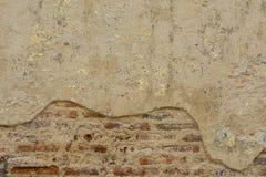 De muur van het baksteencement Stock Fotografie