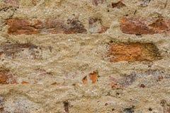 De muur van het baksteencement Royalty-vrije Stock Fotografie