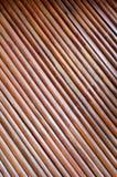 De muur van het bamboe Stock Afbeeldingen