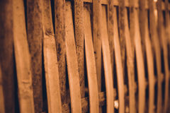 De muur van het bamboe Royalty-vrije Stock Foto's