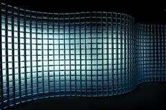 De muur van het glas Royalty-vrije Stock Afbeeldingen