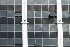 De muur van het glas. Stock Foto