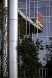 De muur van het glas Stock Foto's