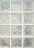 De muur van het glas Royalty-vrije Stock Afbeelding