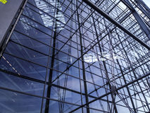 De muur van het glas Royalty-vrije Stock Foto