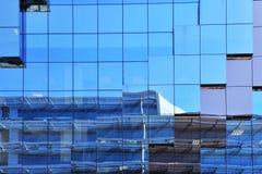 De muur van het glas Stock Afbeeldingen