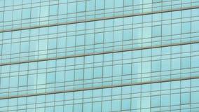 De muur van het glas van commercieel centrum Mag als achtergrond worden gebruikt Stock Foto